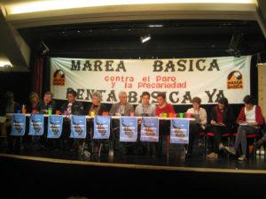 Intervenciones en Encuentro Europeo por la Renta Básica Incondicional en Madrid