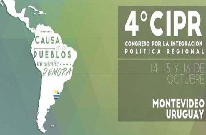 Inicia IV Congreso de Integración Política Regional: «La causa de los pueblos no admite demoras».