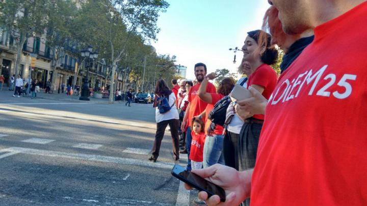 DiEM25: Voluntarios y activistas impulsan y expanden DiEM25 por toda Europa
