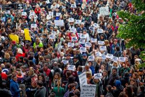 Mar del Plata se movilizó contra los femicidios