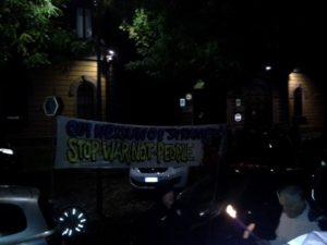Milano, fiaccolata di solidarietà con i profughi