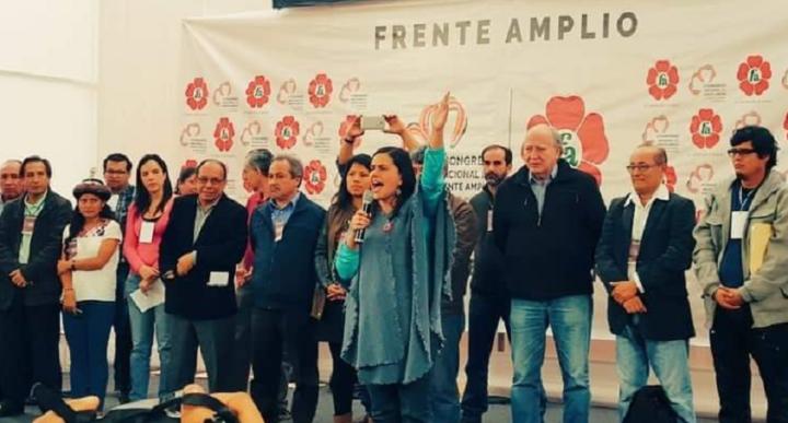 «Perú se libró de la instauración de un narcoestado» dice Verónika Mendoza