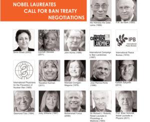 Νομπελίστες καλούν για διαπραγματεύσεις συνθήκης απαγόρευσης των πυρηνικών