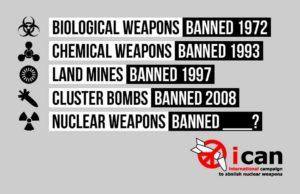 Historische Abstimmung der UN bedeutet Atomwaffen werden ab 2017 illegal