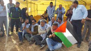 Palestina, un nuovo villaggio contro le demolizioni