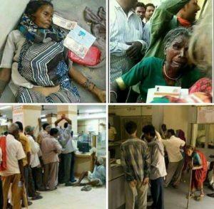 India: morte per demonetizzazione