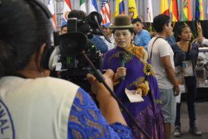 Informe de Rocío Huamancondor Paz del la III Cumbre Continental de Comunicación Indígena de Abya Yala