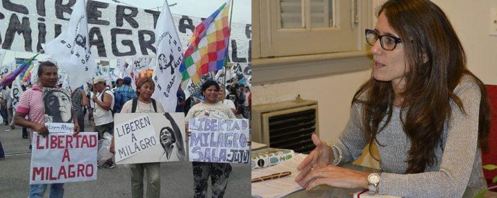 «Hace 289 días que Milagro Sala viene sufriendo una detención arbitraria»