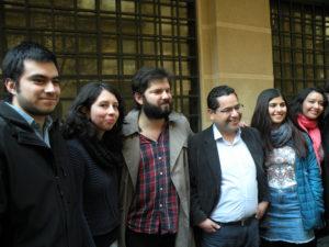 Una nueva generación de jóvenes, ciudadanos comunes y corrientes, humanistas de corazón