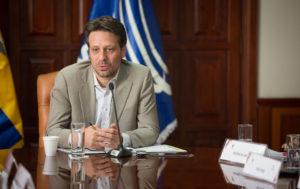«La única posición que tenemos es a favor de la paz»: Guillaume Long