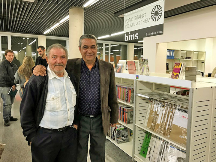 Inauguración del primer fondo documental sobre el Pueblo Gitano en Catalunya