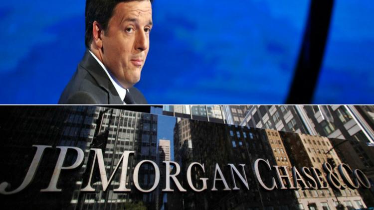 Renzi e J.P. Morgan