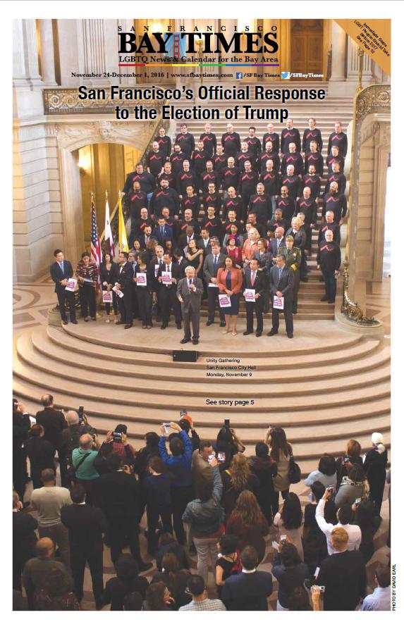 Risposta ufficiale di San Francisco all'elezione di Trump