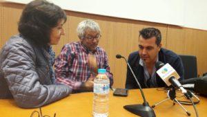 La situación de los migrantes en Ceuta, a través de la mirada de Manuel López y Antonio Sempere