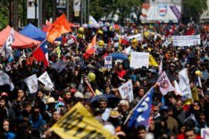 Convocan paro nacional este 4 de noviembre en Chile