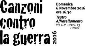 A Firenze canzoni contro la guerra