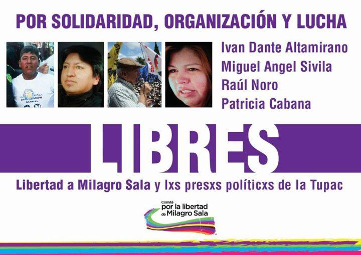 Raúl Noro und weitere drei Mitglieder von Tupac Amaru befreit