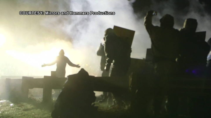 Standing Rock: 100+ Injured After Police Attack with Water Cannons, Rubber Bullets & Mace