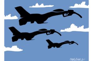 A Ghedi 30 caccia F-35 con 60 bombe nucleari