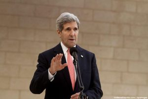 Kerry arrives in Oman for Yemen peace negotiations
