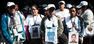 Caravana de madres centroamericanas que buscan a sus hijos desaparecidos llega a la Ciudad de México