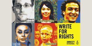 Ai Weiwei unterstützt Amnesty International – Obama soll Snowden begnadigen