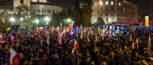 Opposition lawmakers in Poland block parliament to protest media rules
