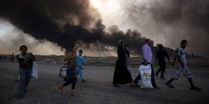Irak: Kinder im Kreuzfeuer der Schlacht um Mossul