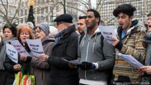 Spontanes Solidaritätskonzert für die Anschlagsopfer in Berlin