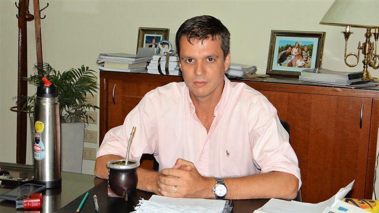 Enrique Cresto intendente de Concordia, Entre Ríos, Argentina