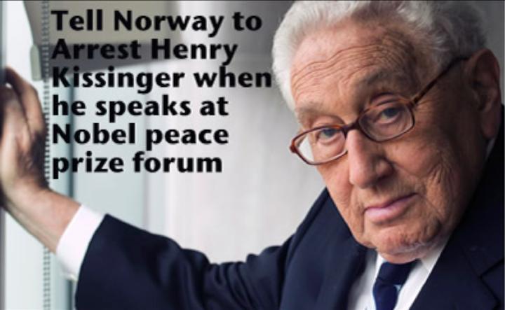 Norway to prosecute Henry Kissinger
