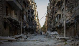 Basta bombe su civili e ospedali.  Solidarietà alla popolazione siriana