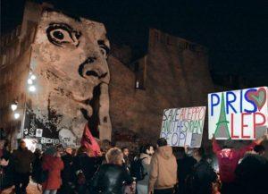 Solidarité avec Alep à Paris