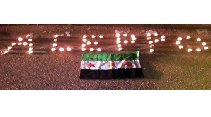Solidarité avec Alep à Marseille