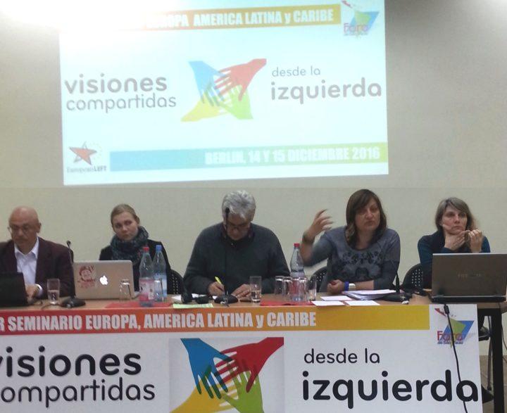 Europäische Linkspartei trifft mit Foro de São Paulo in Berlin zu einem ersten strategischen Erfahrungsaustausch zusammen
