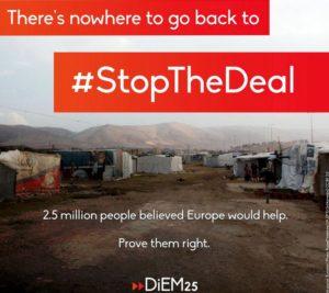 Rette Shabbir und #StopTheDeal zwischen der EU und der Türkei