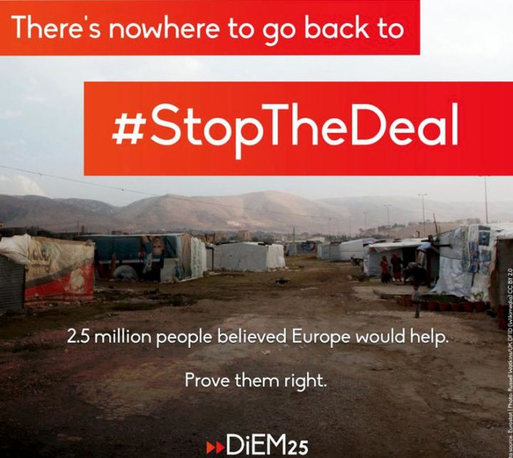 Save Shabbir and #StopTheDeal between the EU and Turkey