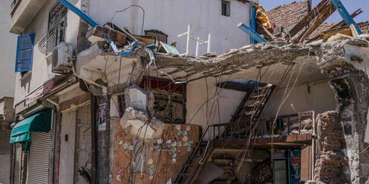Eine halbe Million Menschen aus ihren Häusern vertrieben