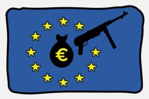 """L'UE diventa il """"salvadanaio"""" dell'industria delle armi"""