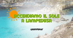 Lampedusa: in funzione l'impianto solare promosso da Greenpeace