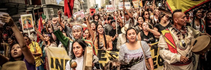 NYC: Water Protectors Disrupt 4 Bank Branches Demanding Divestment from Dakota Pipeline