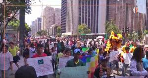 10 ª Marcha dos Imigrantes