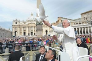 Today, Pope Francis Issued the Catholic Church's First Statement on Nonviolence—Ever