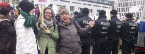 Photos of the Women's March in Berlin, Germany