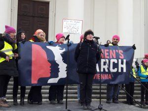 Photos of the Women's March in Vienna, Austria