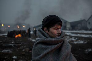 Desperate Refugees, Migrants in Serbia Face Freezing Temperatures
