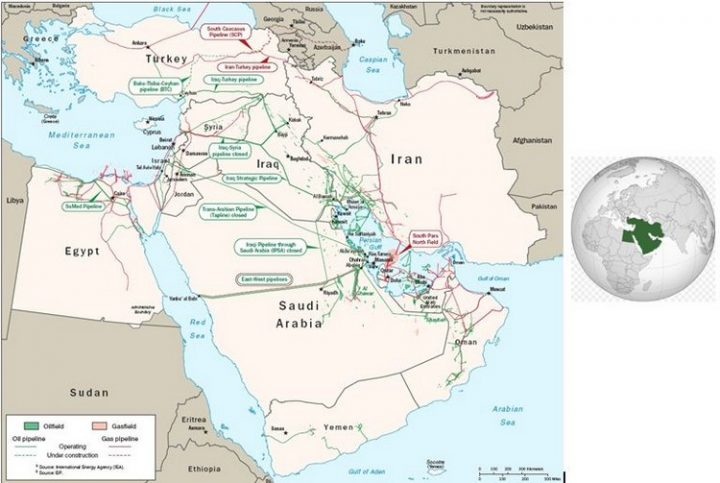 Understanding the situation of the Middle East today. From 1945 to 1990, a stake of the Cold War (2/3)