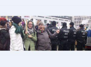 La marche des femmes à Berlin