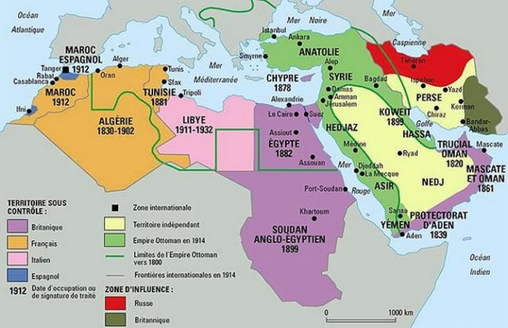 Understanding the situation of the Middle East today. From one world war to another (1/3)