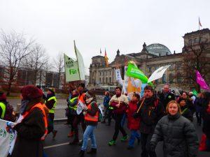 Wir-haben-es-satt! Demo in Berlin: ein Erlebnisbericht